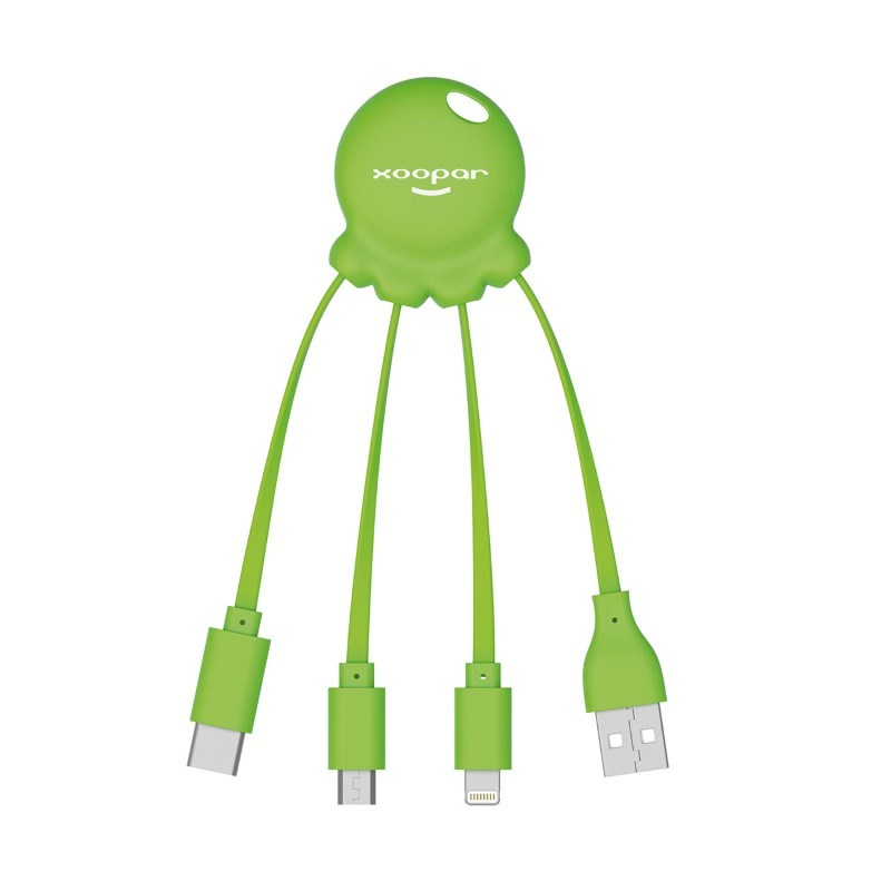 Xoopar Octopus 2 - green