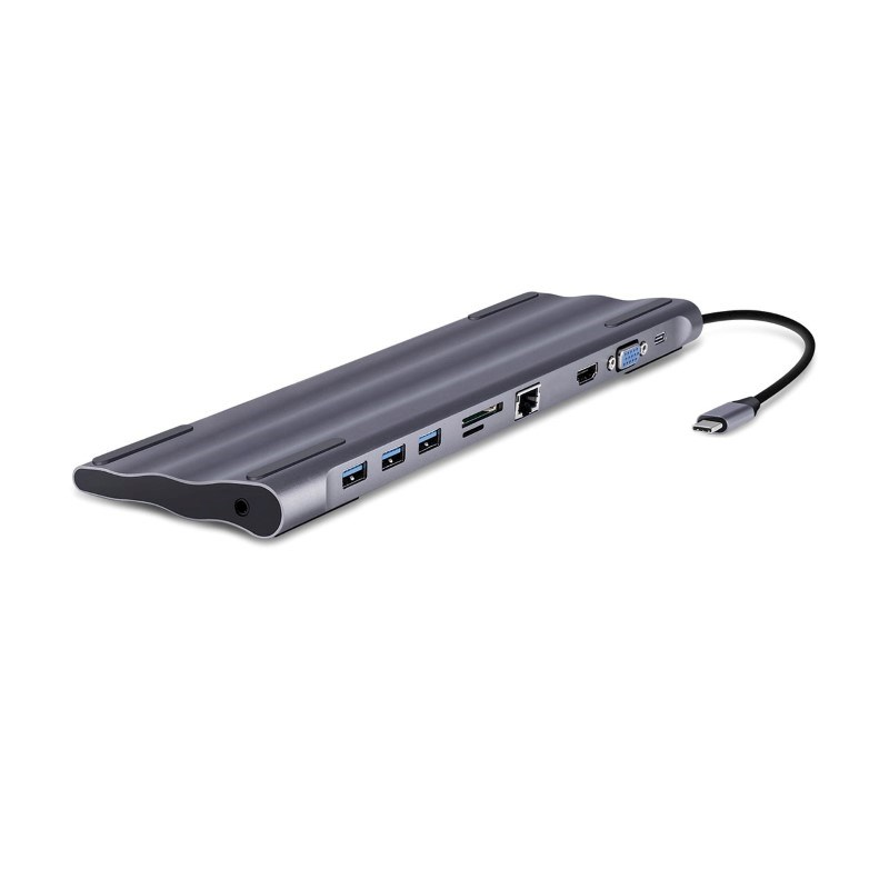 10 in 1 USB-C Docking Station - grey
