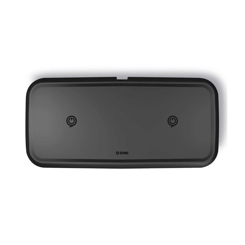 Zens Dual Fast Wireless Charger 10W - black