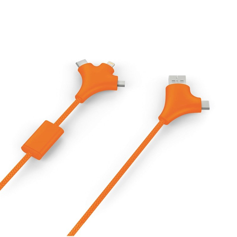 Xoopar WY Charging Cable - orange