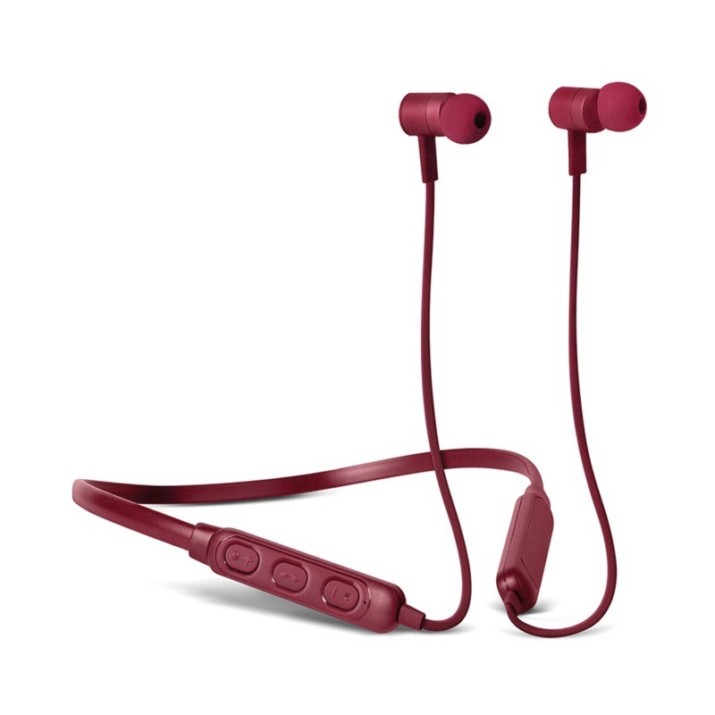 Fresh 'n Rebel Band-it Wireless Headphones - ruby