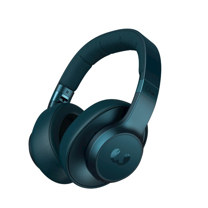 Fresh 'n Rebel Clam ANC Wireless Over-ear Headphones + active noise cancelling - petrol blue