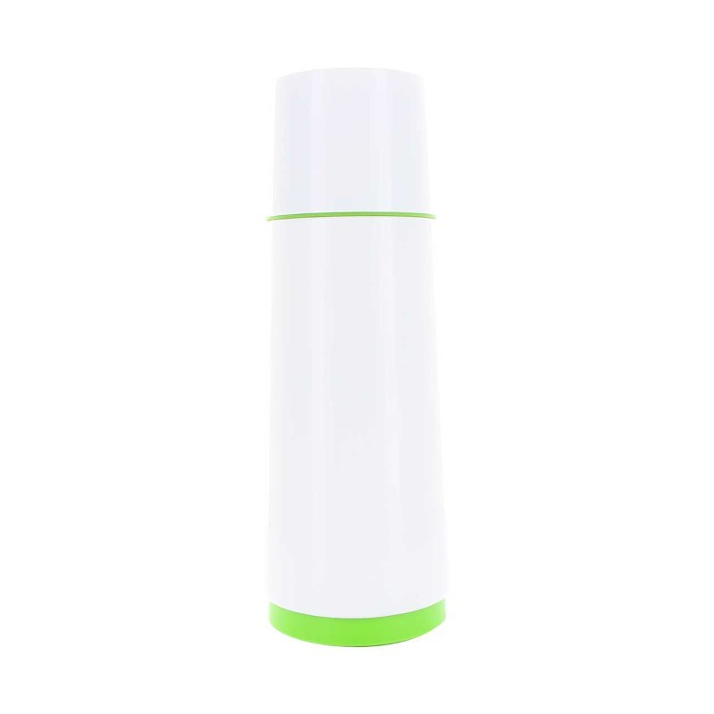 CloudCup - white with green trim