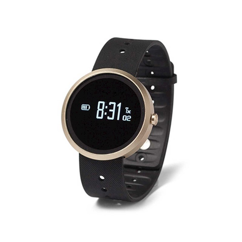 Q Watch Plus Heart Rate - black