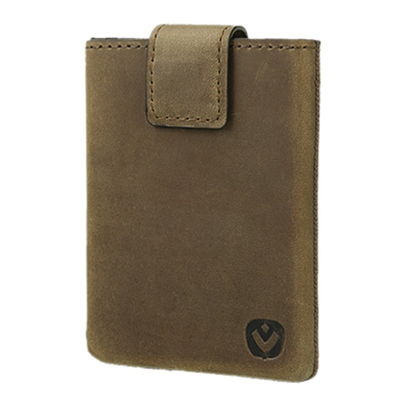 Valenta Card Case Pocket Luxe - vintage brown