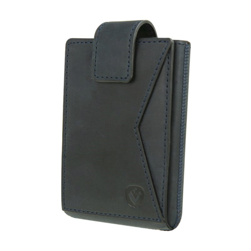 Valenta Card Case Pocket Premium - vintage blue