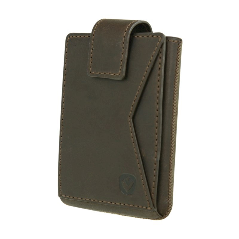 Valenta Card Case Pocket Premium - vintage brown