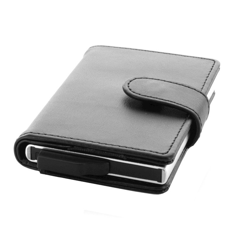 Valenta Card Case Slide - black