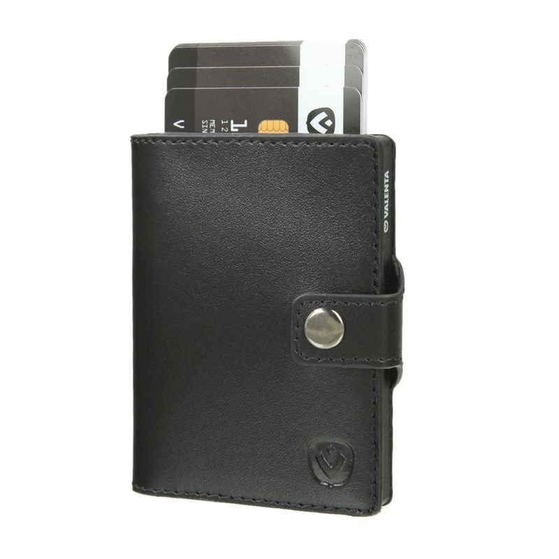 Valenta Card Case Wallet Black - black