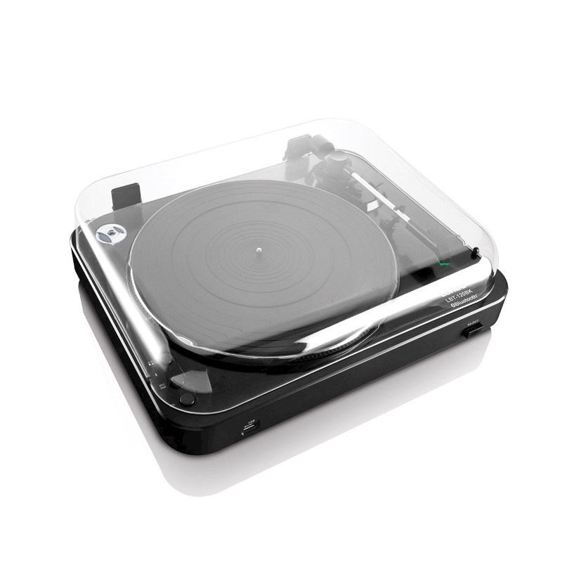 Lenco Turntable with Bluetooth and USB Direct Encoding - black