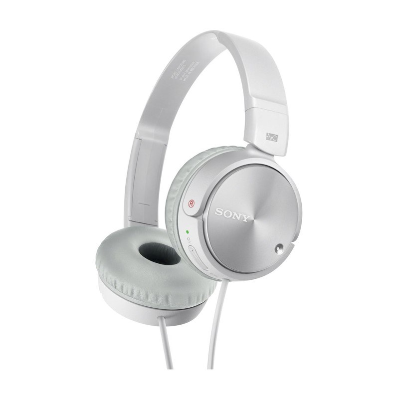 Sony Noise Cancellation Headphone - white