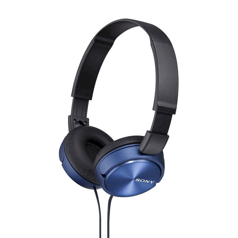 Sony Headphones with Inline Mic (Standard) - blue