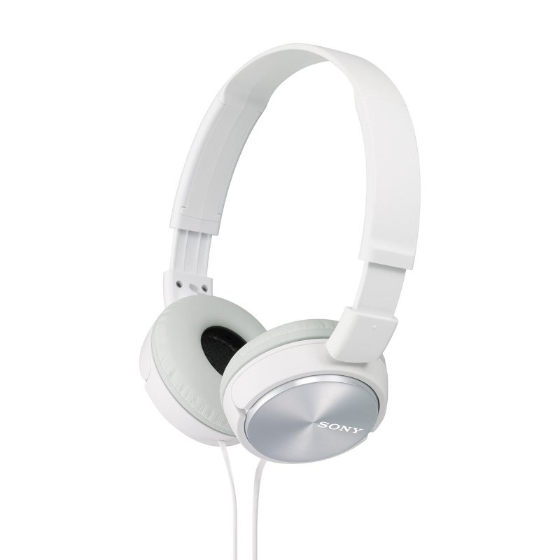 Sony Headphones with Inline Mic (Standard) - white