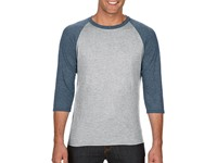 Anvil Tri-Blend 3/4 Sleeve Raglan Tee