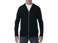 Anvil Tri-Blend Full-Zip Hooded Jacket