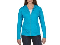 Anvil Women`s Tri-Blend Full-Zip Hooded Jacket