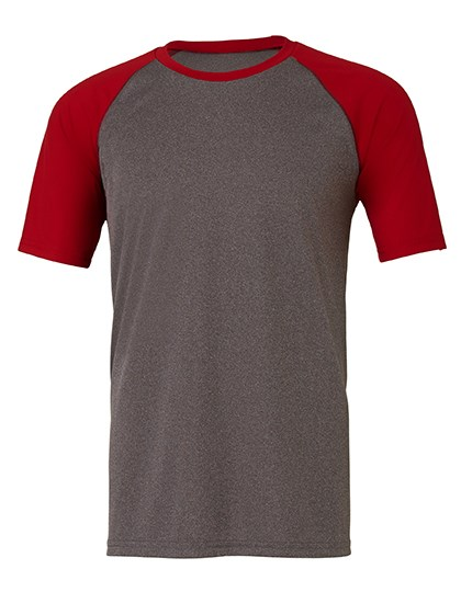 All Sport Unisex Performance Short Sleeve Raglan Tee