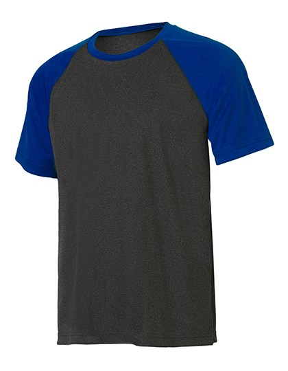 All Sport Unisex Performance Short Sleeve Raglan Tee