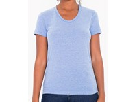 American Apparel Women`s Tri-Blend Track T-Shirt