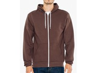 American Apparel Unisex Flex Fleece Zip Hooded Sweatshirt