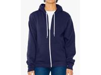 American Apparel Unisex Flex Fleece Zip Hooded Sweatshirt