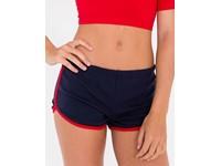 American Apparel Women`s Interlock Running Shorts