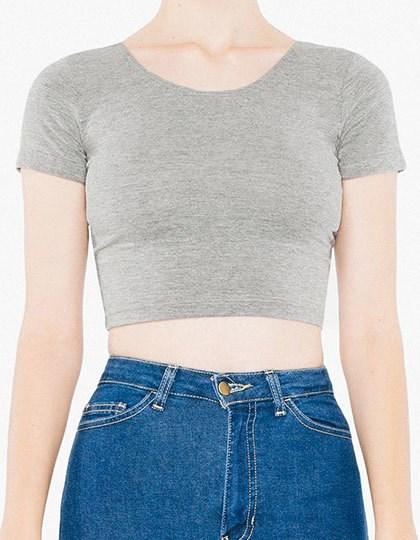 American Apparel Women`s Jersey Crop Top