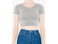 American Apparel Women`s Jersey Crop Top