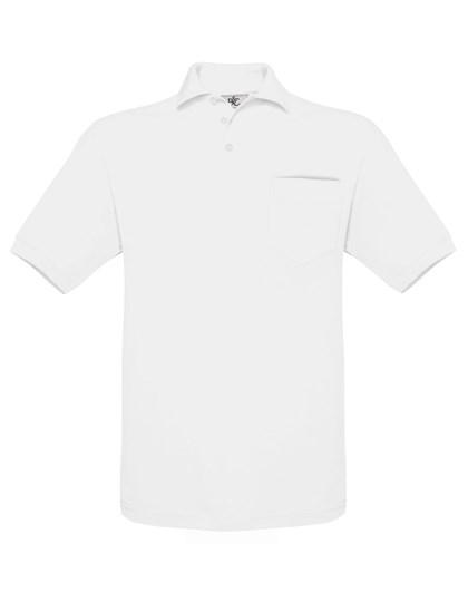 B&C Polo Safran Pocket / Unisex