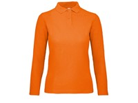 B&C Long Sleeve Polo ID.001 / Women
