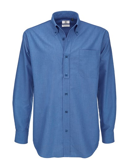 B&C Shirt Oxford Long Sleeve /Men
