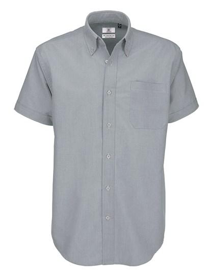 B&C Shirt Oxford Short Sleeve /Men