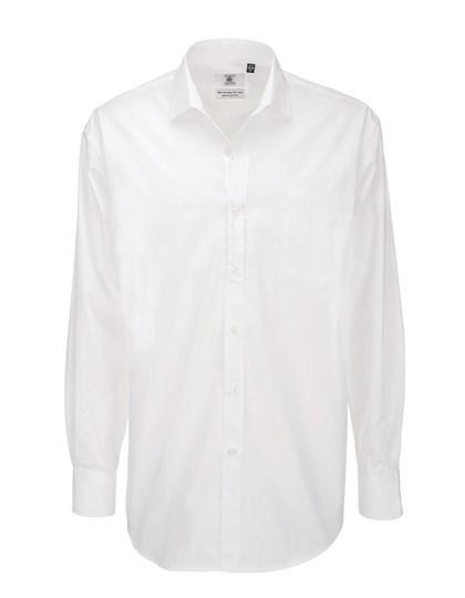 B&C Poplin Shirt Heritage Long Sleeve / Men