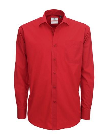 B&C Poplin Shirt Smart Long Sleeve / Men