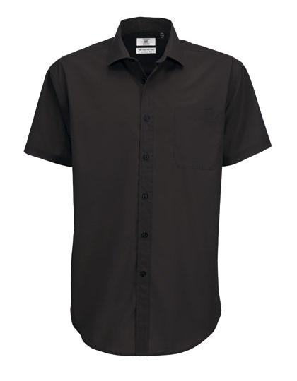 B&C Poplin Shirt Smart Short Sleeve / Men