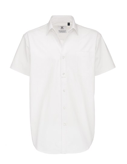 B&C Twill Shirt Sharp Short Sleeve / Men