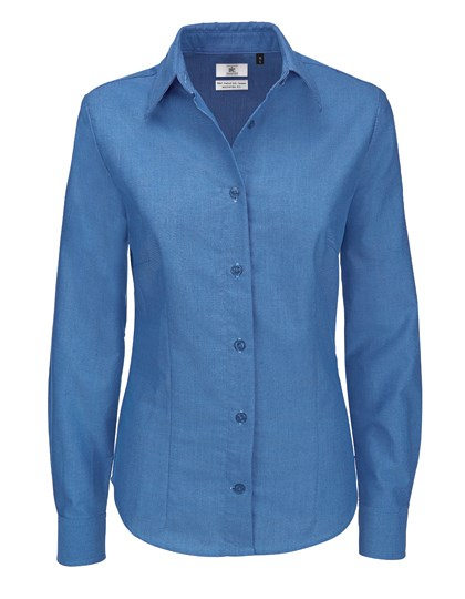 B&C Oxford Shirt Long Sleeve / Women