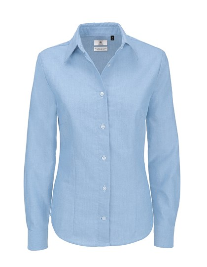 B&C Oxford Shirt Long Sleeve / Women