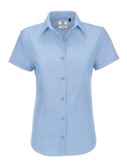 B&C Oxford Shirt Short Sleeve / Women