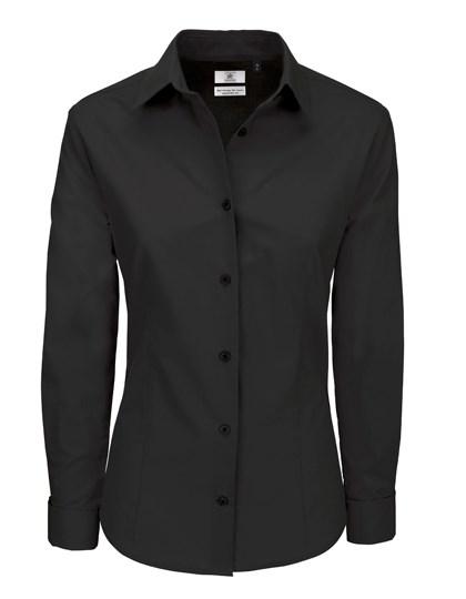 B&C Poplin Shirt Heritage Long Sleeve / Women