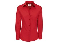 B&C Poplin Shirt Heritage Long Sleeve / Women