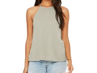 Bella Women`s Flowy High Neck Tank