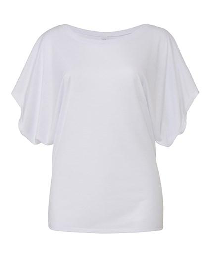 Bella Flowy Draped Sleeve Dolman T-Shirt
