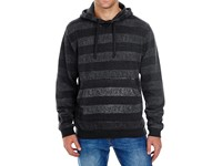 Burnside Printed Striped Marl Pullover