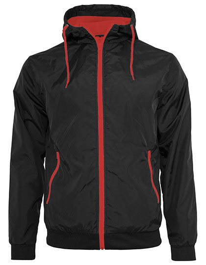 Build Your Brand Windrunner Jacket