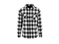 Build Your Brand Checked Flannel Shirt