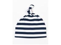 Babybugz Baby Stripy One Knot Hat