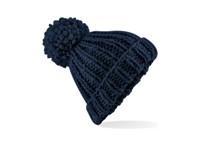 Beechfield Oversized Hand-Knitted Beanie