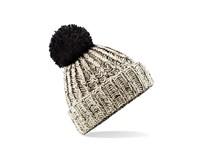 Beechfield Twist-Knit Pom Pom Beanie