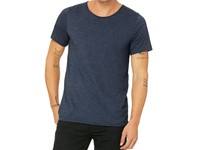 Canvas Men`s Jersey Raw Neck Tee